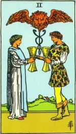 two of cups, tarot wisdom tip
