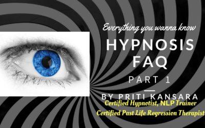 Hypnosis FAQ Part 1
