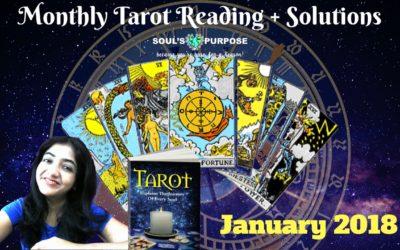 January 2018 Tarot Reading