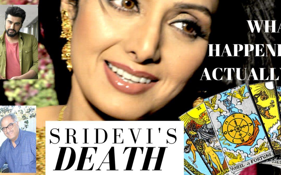Sridevi Death Reason | Tarot Reading | RIP